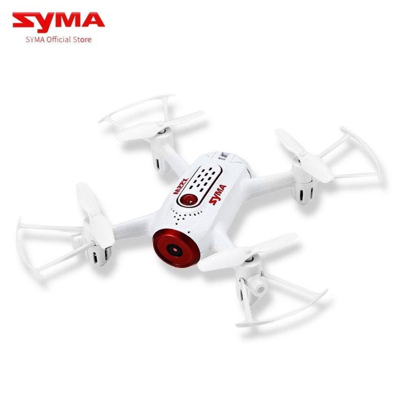SYMA X22W Remote Control Quadcopter with HD Camera - Red With White - 3247534712