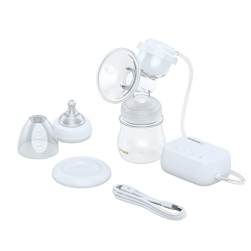 Cmbear ZRX - 0821SB - LD Electric Dual Frequency Button Breast Pump - White - 5Z49717912