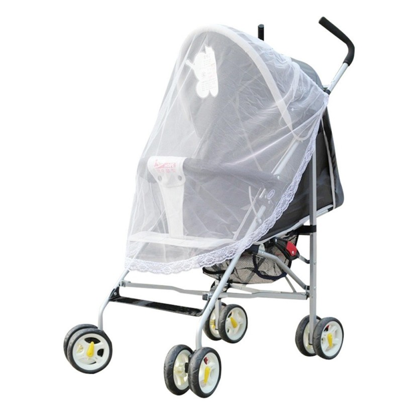 Baby Buggies Mosquito Nets Universal Cart Nets Fit Most Models - White - 3961960012