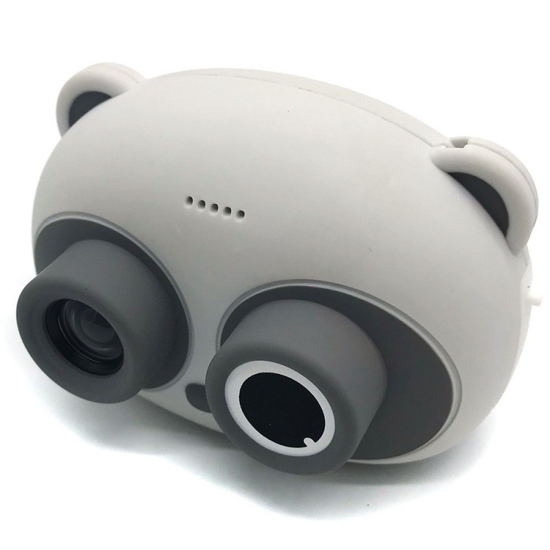 JJRC C22 Children's Cartoon Panda Camera - Gray - 5S56609012