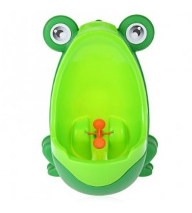 Separable Suspensible Lovely Frog Shape Boys Standing Urinal - Green - 2M84518314