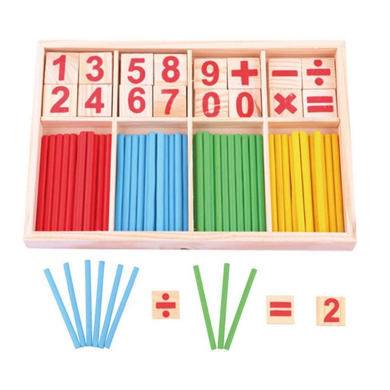 Children Counting Sticks Education Toy - Multi - 3D87099512