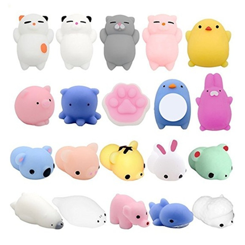 Creative Animals Model Decompression Toys 20pcs - Multi - 3X76621412