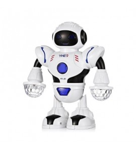 HT- 01 Kids Electronic Smart Space Dancing Robot with Music LED Light - Multi - 3L92122812