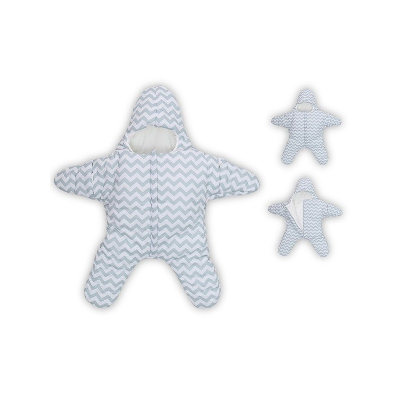 Baby Lovely Small Starfish Sleeping Bag - Cloudy - 3P41479012