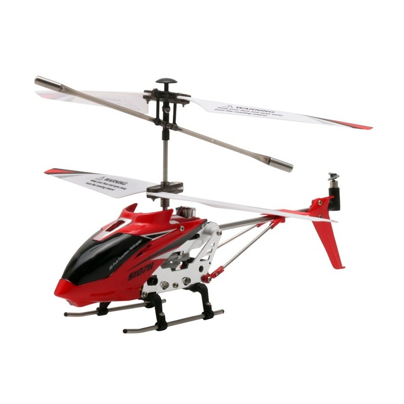 SYMA S107H RC Helicopter Airplane Altitude Hold 3CH Control Kids Toy Gift - Red - 3387383012