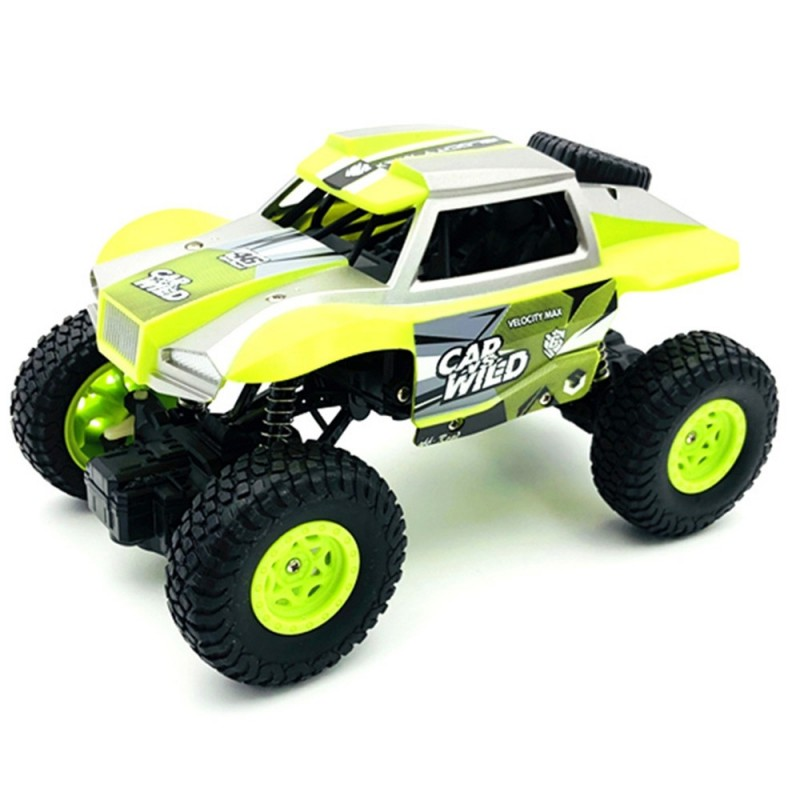 8216A+ 1/20 RC Car Off-road Crawler Remote Control Toy - Tea Green - 4717728014