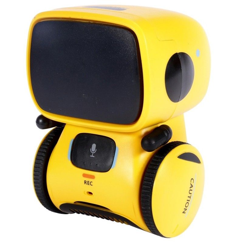 TOY73001 Inductive Touch Re-reading Voice-activated Robot Toy Gift for Children - Yellow - 4G77149013