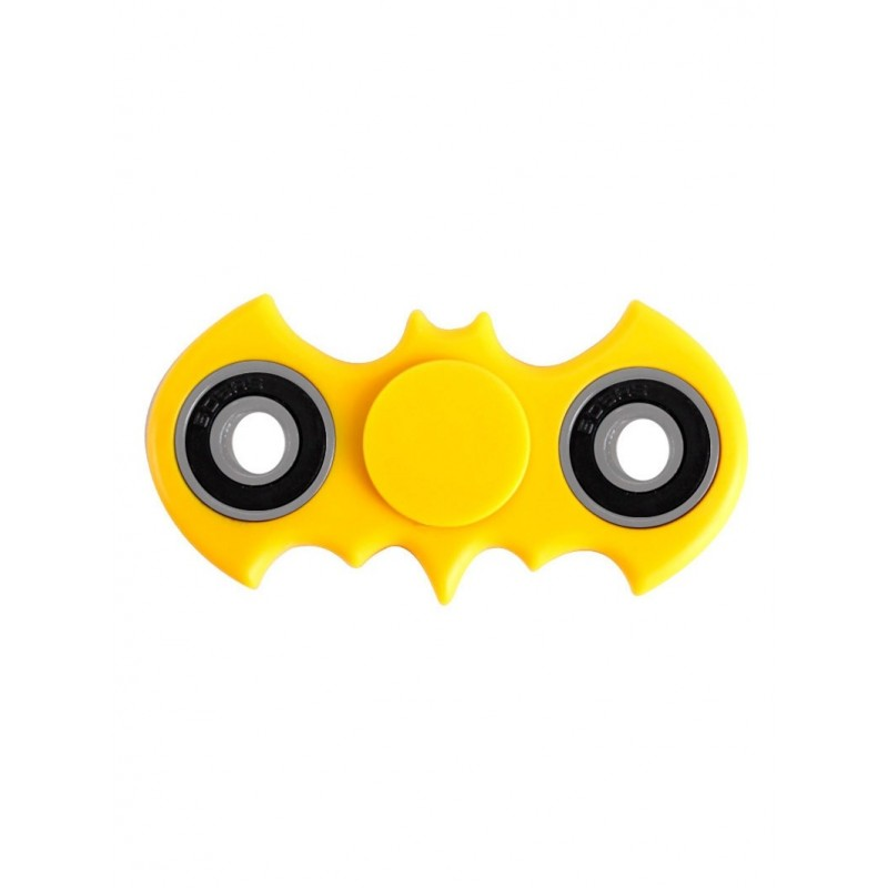 Focus Toy Bat Shaped Rotating Finger Gyro - Yellow - 3823689816