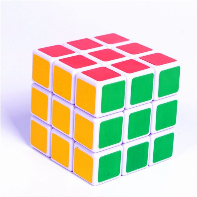ABS Ultra-Smooth Professional Speed Magic Cube Puzzle Twist Toy - Colour - 3T57980312