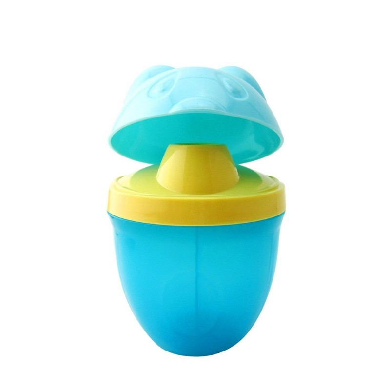 Baby's Milk Powder Storage Box Portable Dispense Box Baby Container Box - Blue - 4Y88467312