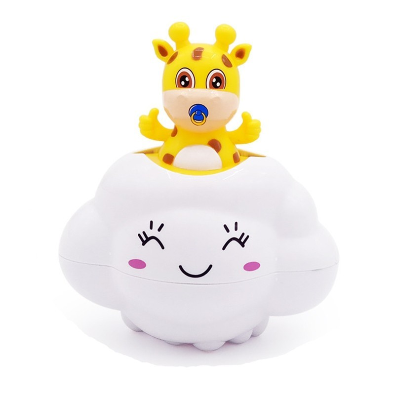 Baby Bathroom Rain Clouds Deer Shower Play Water Toy - White - 3G78911512