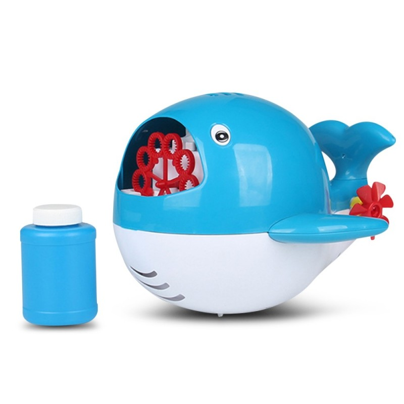 Automatic Bubble Machine for Children Light Music Cartoon Shape - Deep Sky Blue - 5K56284813