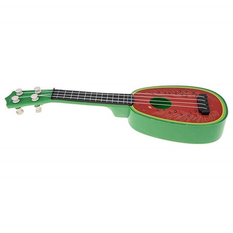 Children Learn Guitar 4 Strings Mini Fruit Play Musical Instruments toy - Multi - 4I80501415