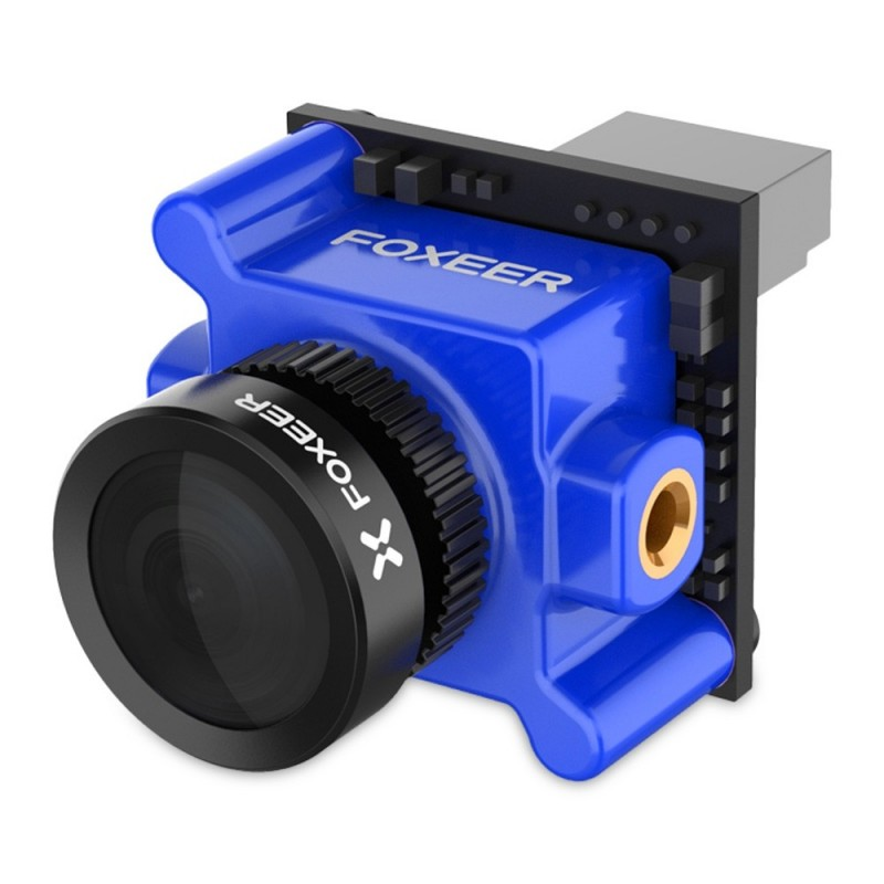 Foxeer 16:9 NTSC 1200TVL 1.8mm Monster Micro Pro WDR FPV Camera - Blue Orchid - 3176912014