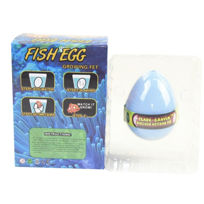 Tropical Fish Egg Water Hatching Magic Children Kids Toy - Powder Blue - 3960496913