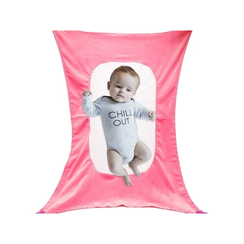 Removable Baby Sleep Hammock Breathable Family Cradle - Carnation Pink - 3F83879812