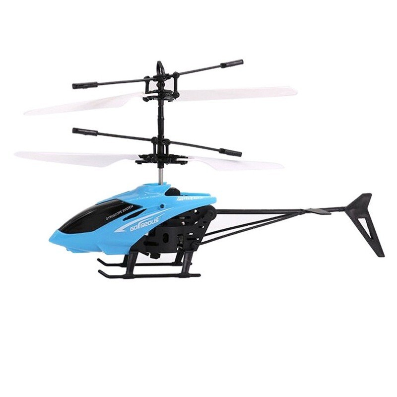 Infrared Induction Helicopter Toy for Kids - Blue - 3A48322213