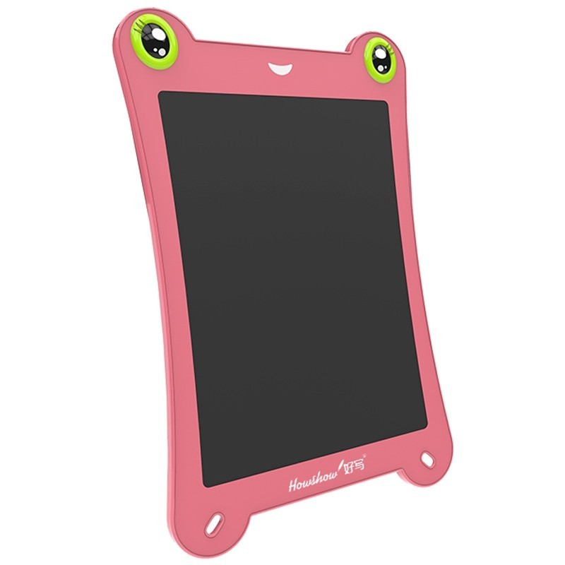 8.5 inch LCD Writing Tablet Digital Handwriting Drawing Board Frog Shape with Stylus Pen - Pink - 5D55976012