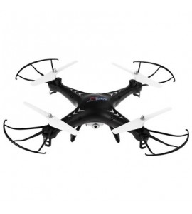 SJ X300 - 1CW 2.4GHz 4CH RC Quadcopter Drone WIFI Real-time Transmission with 0.3MP Camera - Black - 2C65442313
