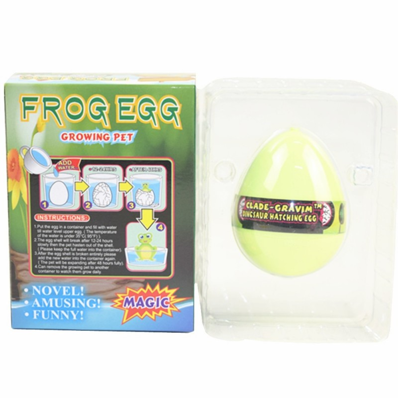 Frog Egg Growing Water Hatching Magic Children Kids Toy - Parchment - 3860258615