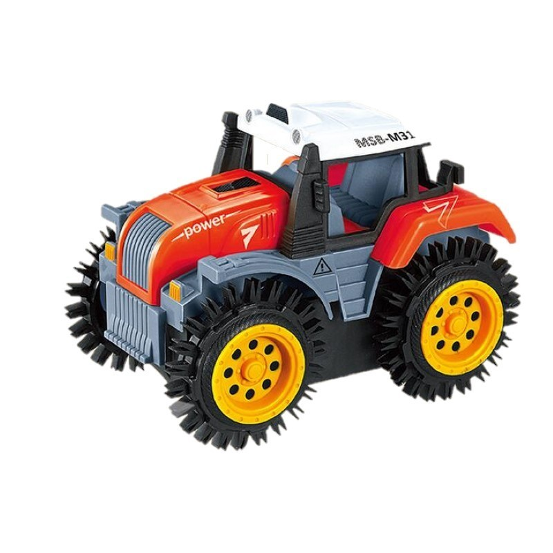 Electric Farm Track Super Tipping Car for kids - Red - 3O81178714