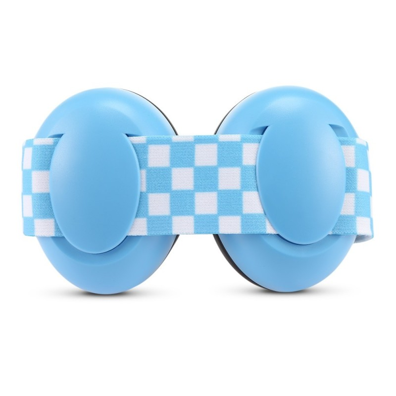 Pair of Infant Baby Anti-noise Earmuffs Elastic Strap Ear Protection - Baby Blue - 3G88255113