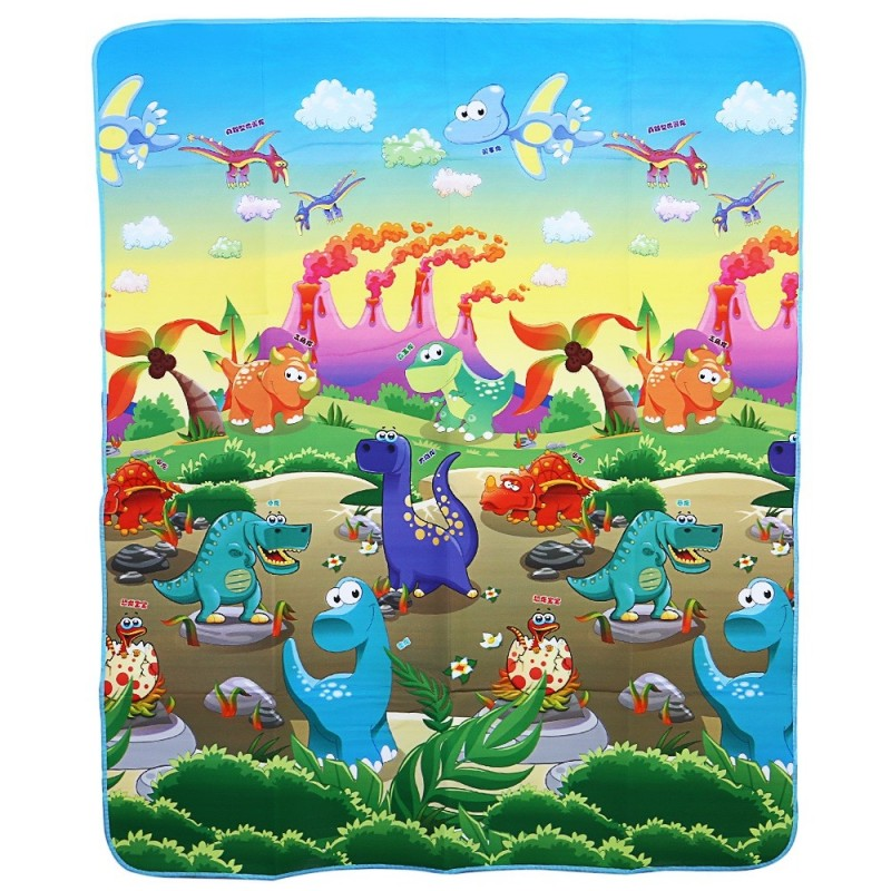 Baby Play Mat Floor Rug Soft Carpet Dinosaurs Paradise Foam Crawling Toy - Colormix - 2G87255313