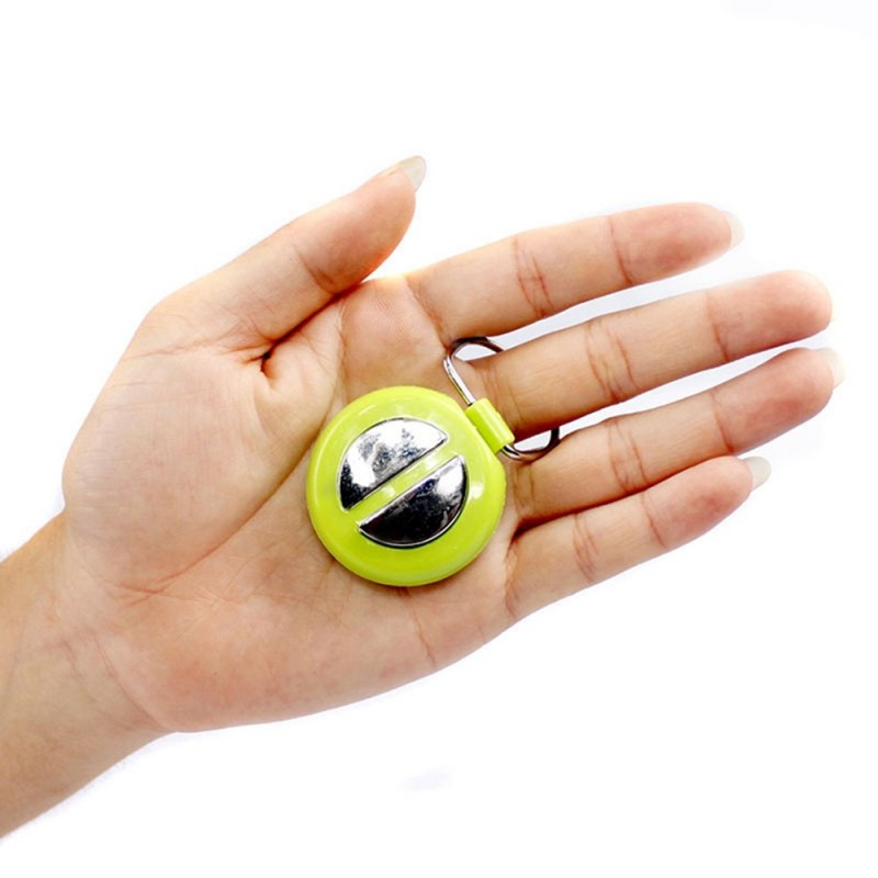 Funny Handshake Electric Shocking Key Ring Joke Trick Toy - Colormix - 2X93145412