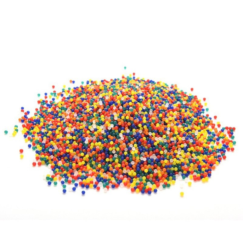 Rainbow Colored Magic Water Bead Mix Vase Filler and Party Decoration Toy 5000PCS - Multi-A - 3I70921512