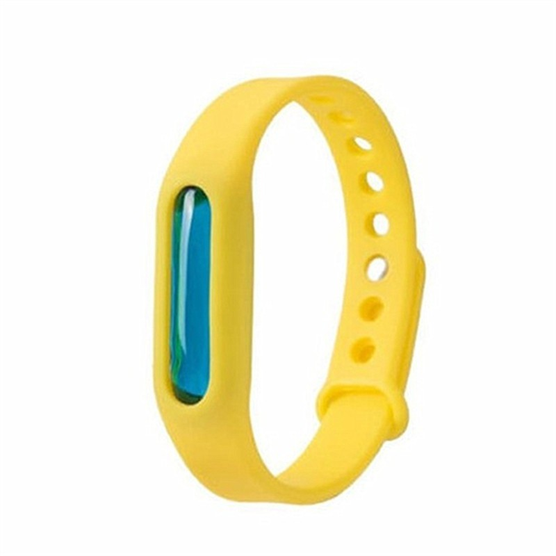 Mosquito Repellent Bracelet for Kids Adults Natural Anti - Yellow - 3178611616