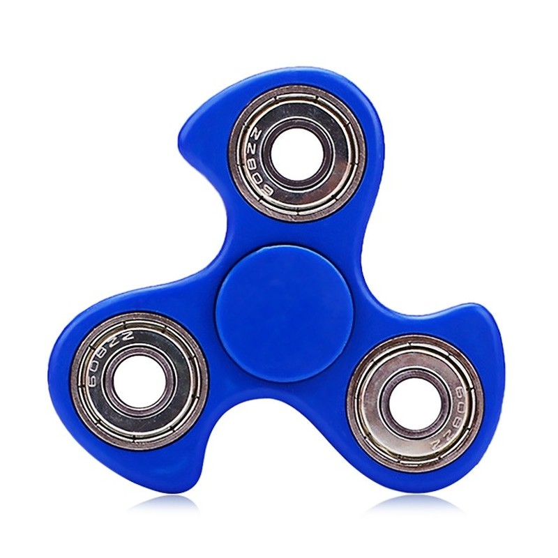 608 ABS Fidget Spinner Stress Relief Product Adult Fidgeting Toy - Blue - 3510842817