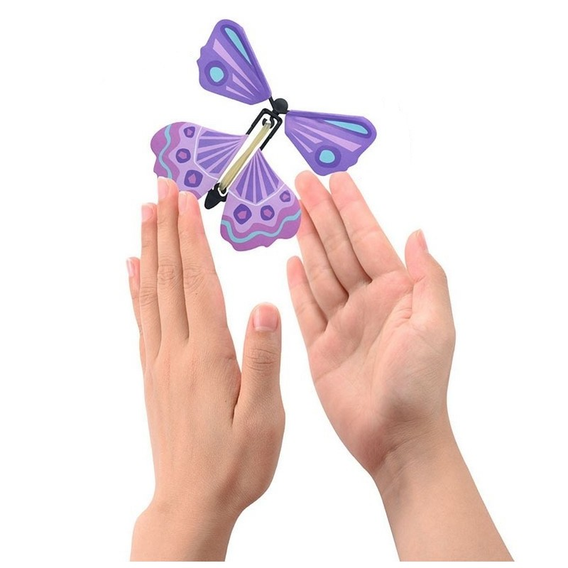 Creative Magic Flying Butterfly Children Toy - Multi-A - 3P94300212