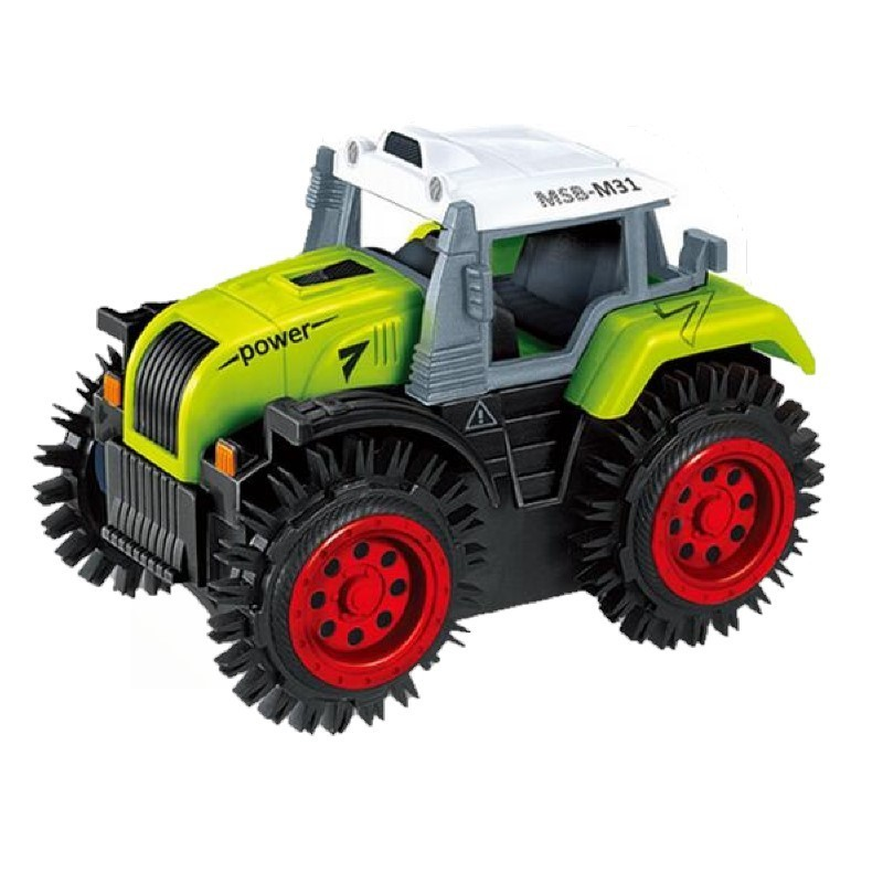 Electric Farm Track Super Tipping Car for kids - Green - 3K81178713