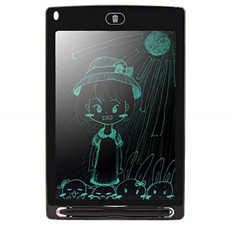 Tablet Graphic Drawing Board Ultra-Thin New Electronic Graffiti Notepad - Black - 4A20441812