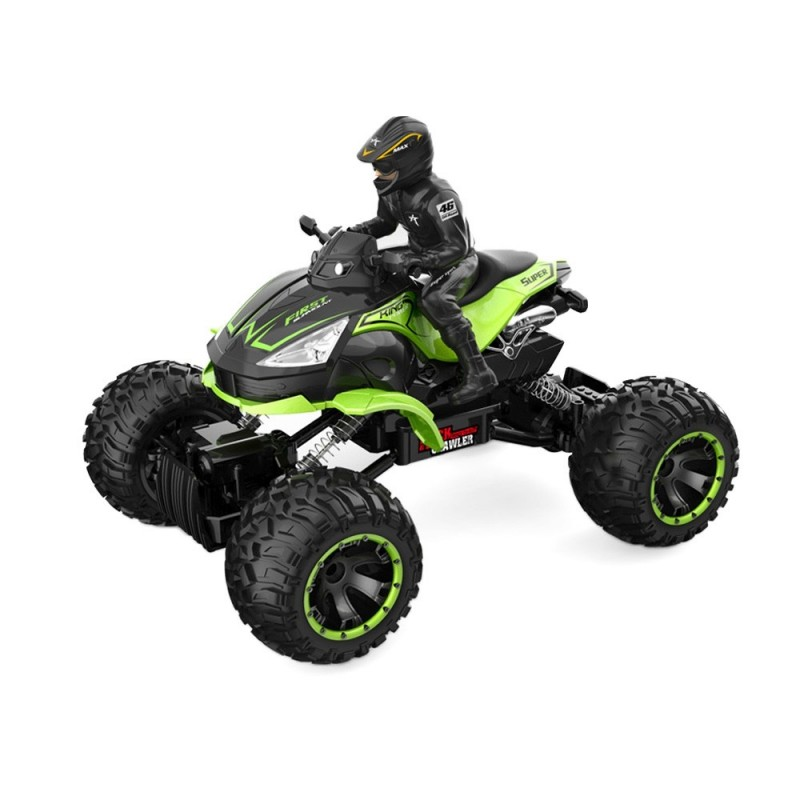 SL - 012A 1/14 2.4G Four Wheel RC Off-road Crawler Car Motor Cycle - Chartreuse - 3D70259414