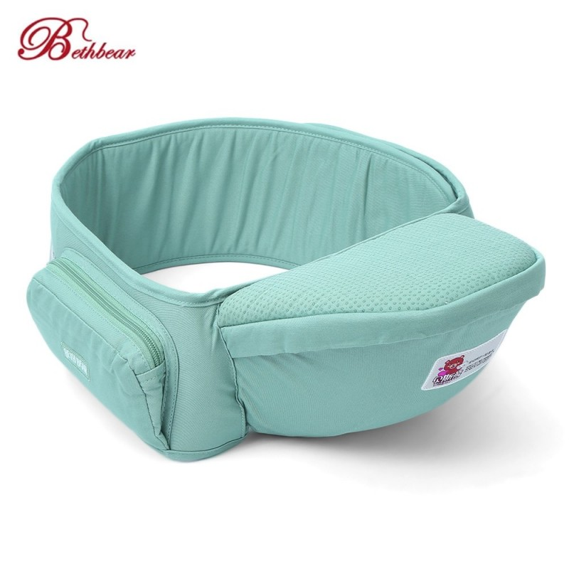 Bethbear Baby Infant Hip Seat Toddler Waist Stool Carrier - Baby Blue - 3F83681012