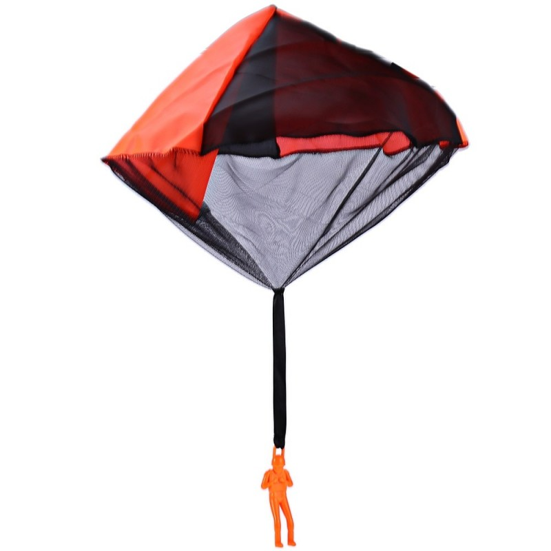 Tangle Free Hand Throwing Small Parachute Outdoor Play Game Toy for Children - Colormix - 2183274212
