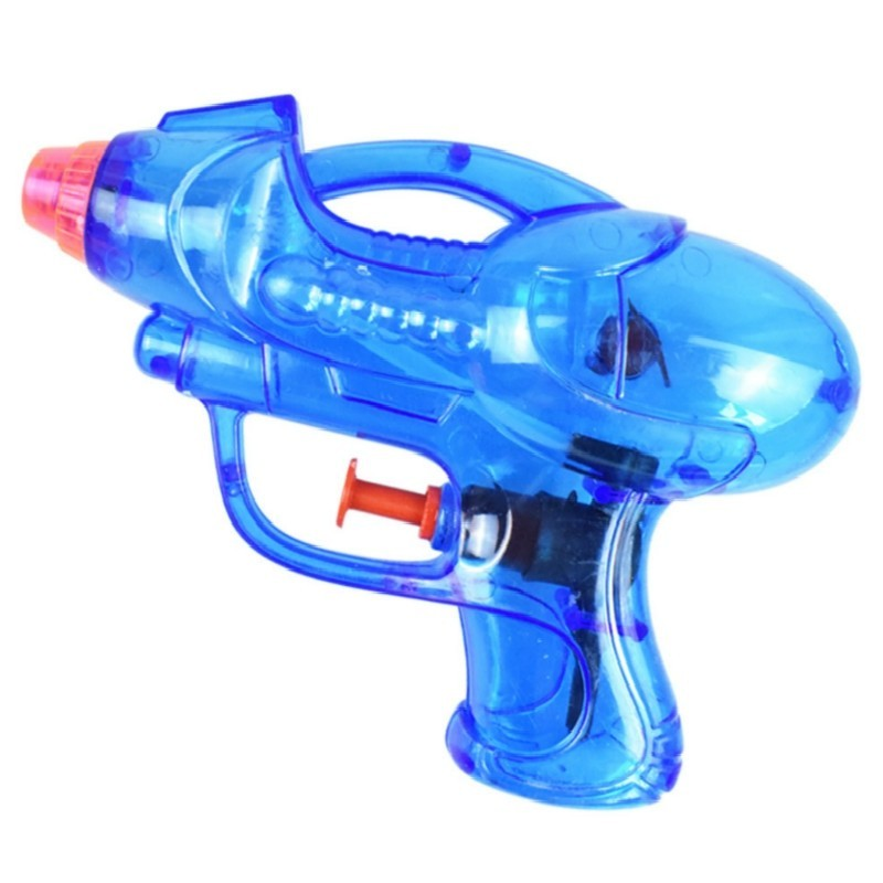 Transparent Water Pistol Toy for Children in Hot Summer - Dodger Blue - 3I73885912