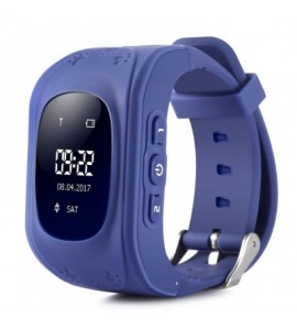 Q50 Children OLED Display GPS Intelligent Watch Telephone - Deep Blue - 2008342210