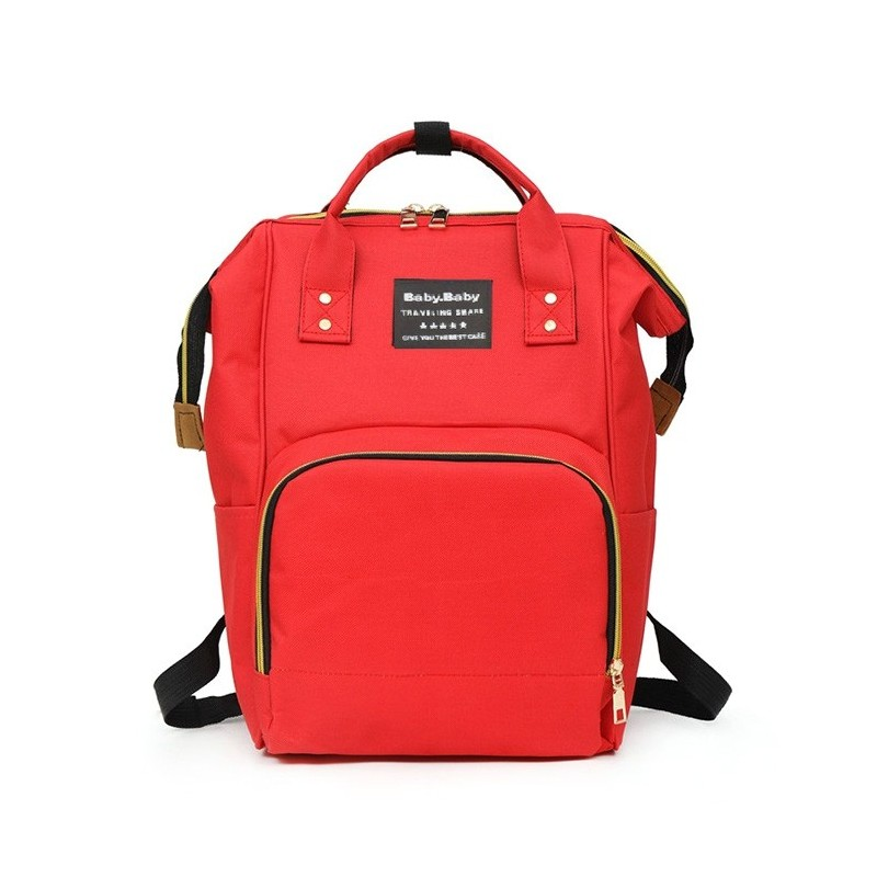 Multifunctional Waterproof Backpack for Daily Use - Red - 5G49485513