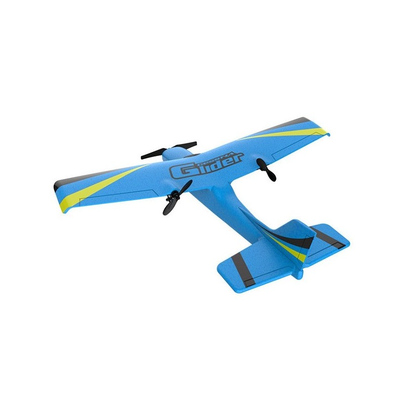 Z50 EPP 2CH Built-in 6-axis Gyroscope Fixed Wing RC Airplane - Blue - 4O64355613