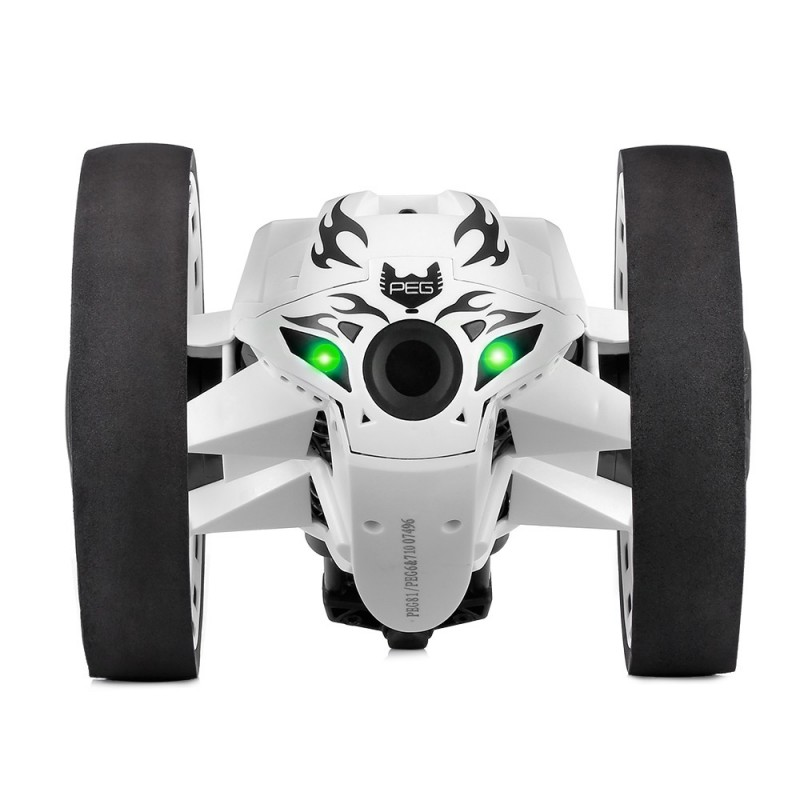 Paierge PEG - 81 2.4GHz Wireless Bounce Car for Kids - White - 3643720713