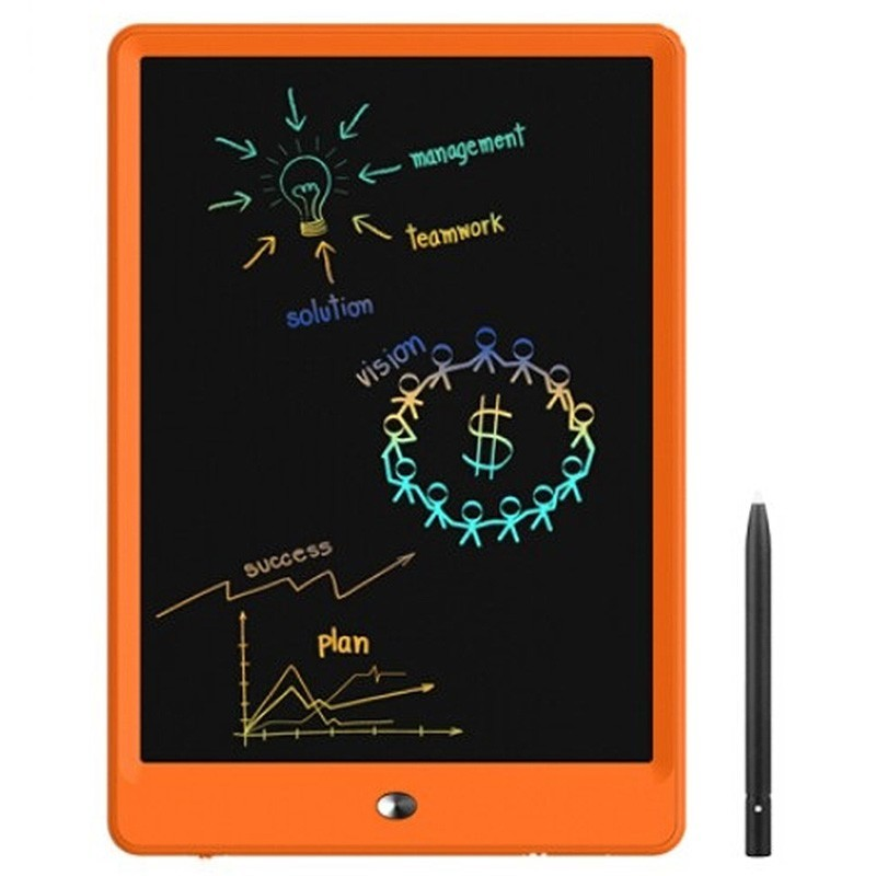 W104C LCD Lightweight Handwriting Drawing Board for Children - Orange - 5853923412