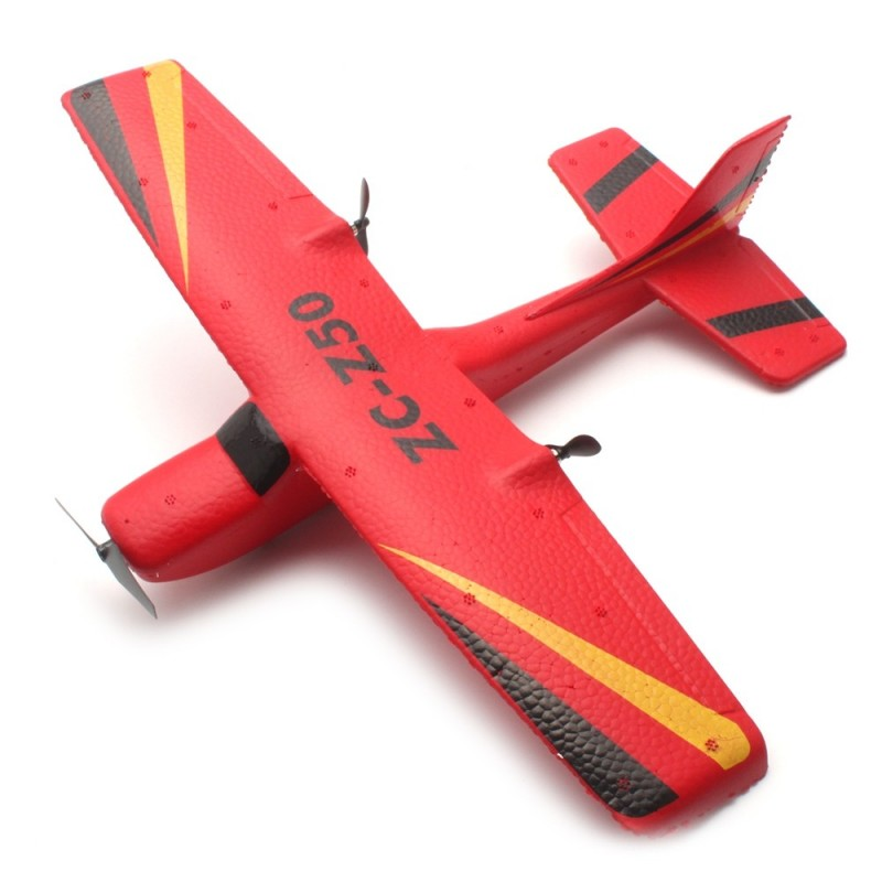 ZC Z50 2.4GHz 2CH 340mm Wingspan Tough EPP RC Glider Airplane RTF - Red - 4S25617712