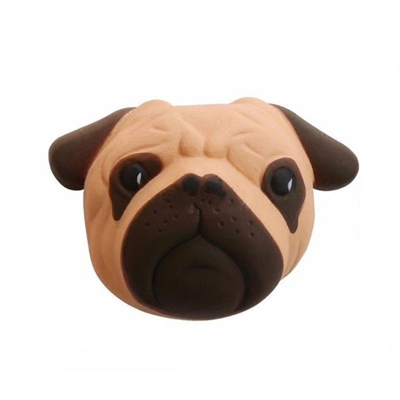 Scented Jumbo Squishy Slow Rising Decompression Toys Pug Dog Stress Reliever - Multi-A - 3F82473512