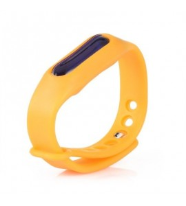 Essential Oil Silicone Mosquito Repellent Wrist Band Bracelet - Pearl Kumquat - 3E28485112