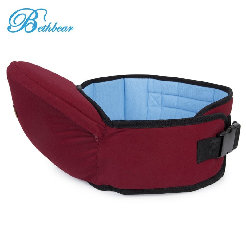 Bethbear Ergonomic Babies Carrier Newborn Kid Pouch Infant with Sling - Wine Red - 2C82724316