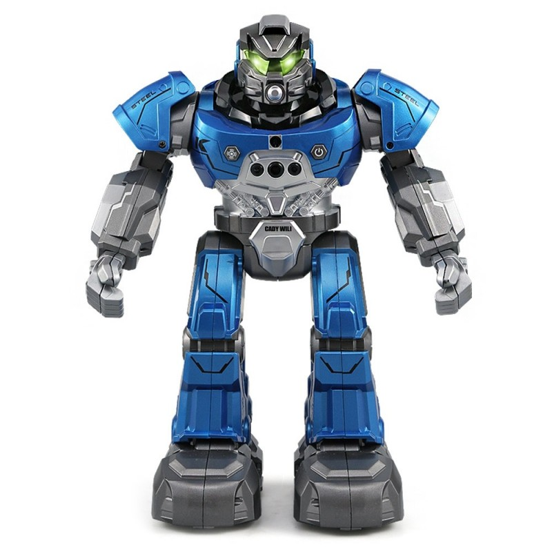 JJRC R5 RC Robot Auto Follow Smartwatch Control Sing Dance Intelligent Programming - Blue - 3J85161913