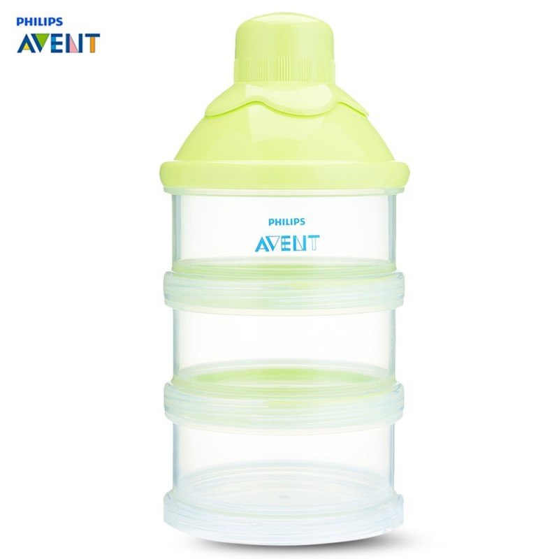 Philips Avent Baby Milk Powder 3 Screw-on Containers Box - Green - 3C61525612